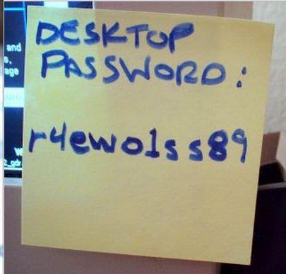 Password og brugernavn